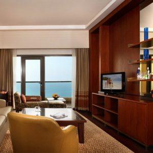 Dubai Honeymoon Packages Amwaj Rotana Classic Sea View Suite1