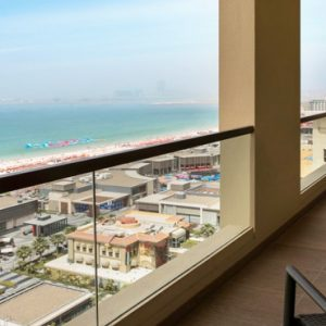 Dubai Honeymoon Packages Amwaj Rotana Classic Sea View Suite2