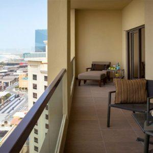 Dubai Honeymoon Packages Amwaj Rotana Classic Sea View Suite3