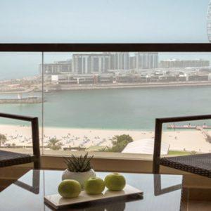 Dubai Honeymoon Packages Amwaj Rotana Club Rotana Sea View Rooms1