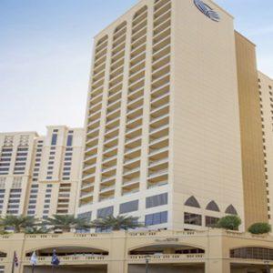 Dubai Honeymoon Packages Amwaj Rotana Hotel Exterior