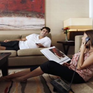 Dubai Honeymoon Packages Amwaj Rotana In Room Dining