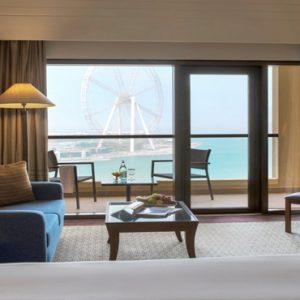 Dubai Honeymoon Packages Amwaj Rotana Premium Sea View Room