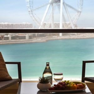 Dubai Honeymoon Packages Amwaj Rotana Premium Sea View Room3