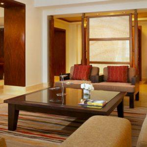 Dubai Honeymoon Packages Amwaj Rotana Presidential Sea View Suite 2