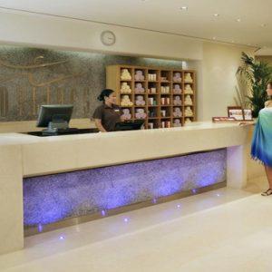 Dubai Honeymoon Packages Amwaj Rotana Spa Reception
