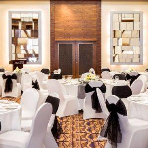 Dubai Honeymoon Packages Amwaj Rotana Wedding Setup