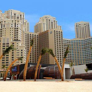 Dubai Honeymoon Packages Amwaj Rotana Beach Area