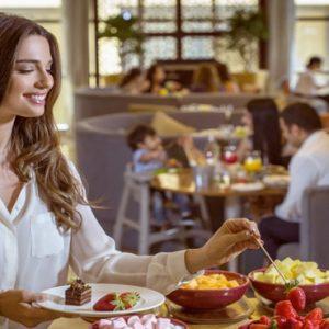 Dubai Honeymoon Packages Amwaj Rotana Dining