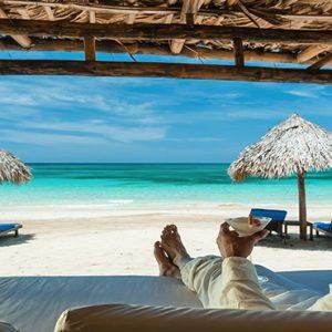 Jamaica Honeymoon Packages Sandals Royal Plantation Jamaica Beach Cabana