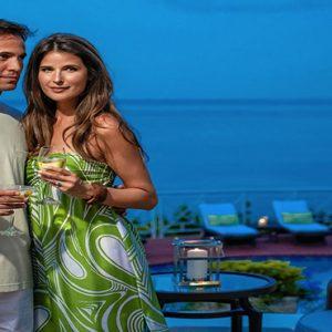 Jamaica Honeymoon Packages Sandals Royal Plantation Jamaica Couple Dining