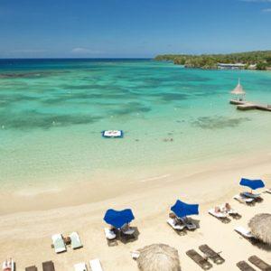 Jamaica Honeymoon Packages Sandals Royal Plantation Jamaica Governor General Oceanfront One Bedroom Butler Suite Beach