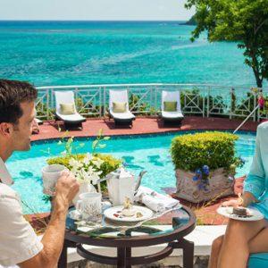 Jamaica Honeymoon Packages Sandals Royal Plantation Jamaica Afternoon Tea