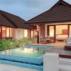 Maldives Honeymoon Packages Varu By Atmosphere Family Beach Villa With Pool Exterior