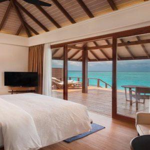 Maldives Honeymoon Packages Varu By Atmosphere Water Suite Bedroom