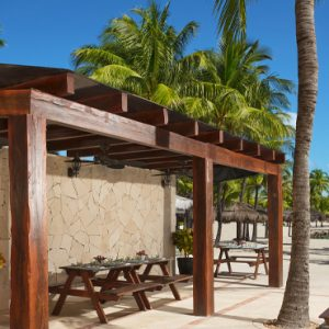 Mexico Honeymoon Packages Dreams Puerto Aventuras Resort & Spa Barefoot Grill