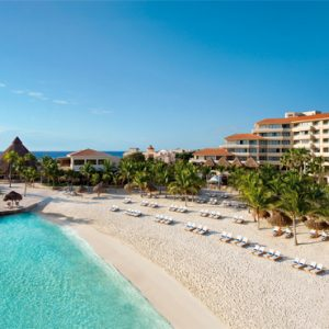 Mexico Honeymoon Packages Dreams Puerto Aventuras Resort & Spa Beach