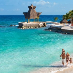 Mexico Honeymoon Packages Dreams Puerto Aventuras Resort & Spa Beach 1