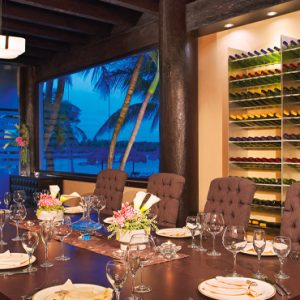 Mexico Honeymoon Packages Dreams Puerto Aventuras Resort & Spa Dining Table