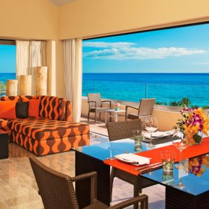 Mexico Honeymoon Packages Dreams Puerto Aventuras Resort & Spa Master Suite Ocean View 1