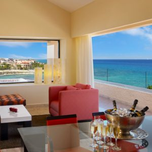 Mexico Honeymoon Packages Dreams Puerto Aventuras Resort & Spa Master Suite Ocean View 2