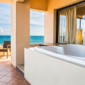 Mexico Honeymoon Packages Dreams Puerto Aventuras Resort & Spa Master Suite Ocean View 3