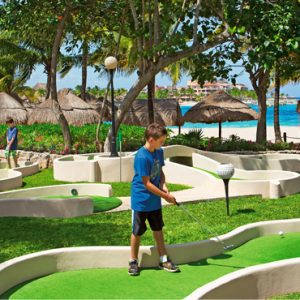 Mexico Honeymoon Packages Dreams Puerto Aventuras Resort & Spa Mini Golf