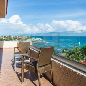 Mexico Honeymoon Packages Dreams Puerto Aventuras Resort & Spa Preferred Club Family Suite Ocean View 2