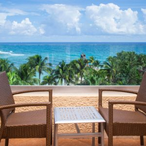 Mexico Honeymoon Packages Dreams Puerto Aventuras Resort & Spa Preferred Club Master Suite Ocean View 2
