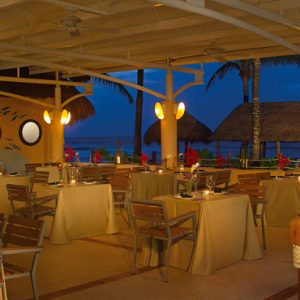 Mexico Honeymoon Packages Dreams Puerto Aventuras Resort & Spa Seaside Grill
