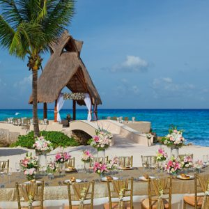 Mexico Honeymoon Packages Dreams Puerto Aventuras Resort & Spa Wedding Venue 1