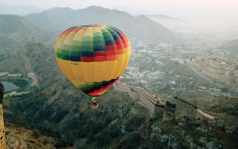 The Most Romantic Hot Air Balloon Rides In The World Jaipur