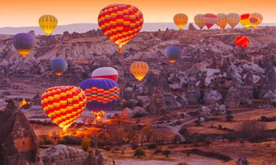 The most romantic hot air balloon rides in the world