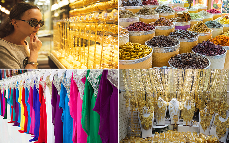Top 10 Free Things To Do In Dubai On Your Honeymoon Blog Gold And Spice Souks