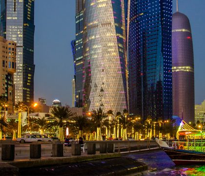 a picture of Qatar