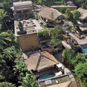 Bali Honeymoon Packages The Kayon Resort By Pramana Aerial View1