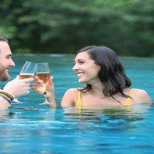 Bali Honeymoon Packages The Kayon Resort By Pramana Couple In Pool1