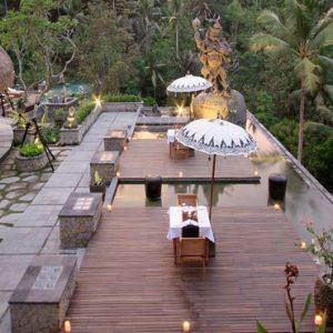 Bali Honeymoon Packages The Kayon Resort By Pramana KePitu Restaurant