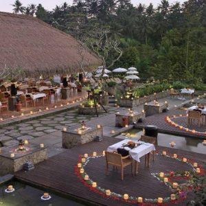 Bali Honeymoon Packages The Kayon Resort By Pramana KePitu Restaurant5