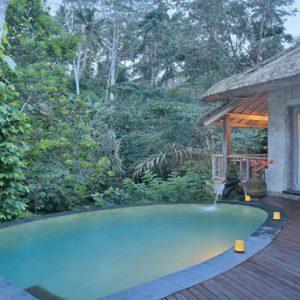 Bali Honeymoon Packages The Kayon Resort By Pramana River Edge Pool Villa9