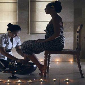Bali Honeymoon Packages The Kayon Resort By Pramana Spa Pedicure