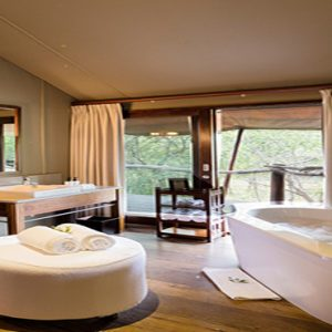Buffalo Camp Bathtub Kapama Private Game Reserve South Africa Honeymoons