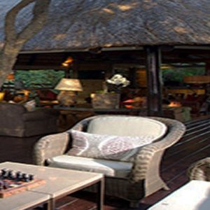 Buffalo Camp Outdoor Bar Kapama Private Game Reserve South Africa Honeymoons