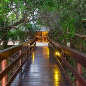Buffalo Camp Walkway Kapama Private Game Reserve South Africa Honeymoons