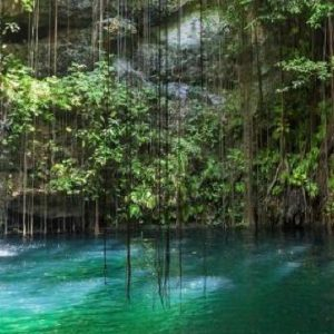 Cenote Tour Now Emerald Cancun Mexico Honeymoons