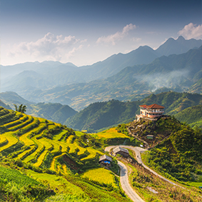 Explore Breathtaking Rice Terraces At Muong Hoa Valley