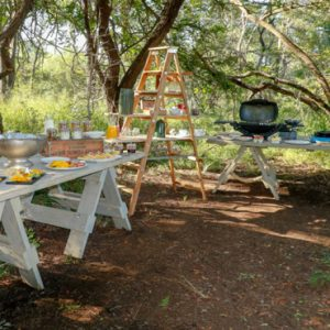 Exterior Dining Kapama Private Game Reserve South Africa Honeymoons