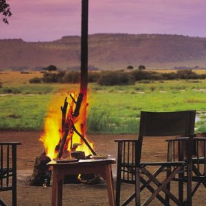 Kenya Honeymoon Packages Little Governors Fire Pit 1