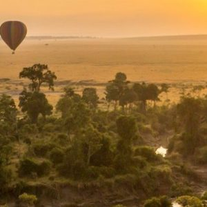 Kenya Honeymoon Packages Little Governors Hot Air Balloon At Sunset