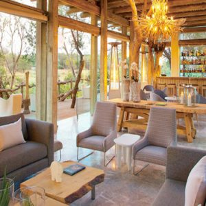Lounge, Bar, Library & Dining (Karula) Kapama Private Game Reserve South Africa Honeymoons
